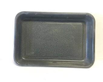 Roasting pan, graniteware pan, graniteware roasting pan