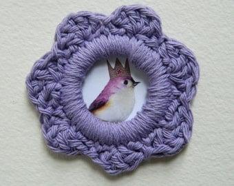 Picture Crochet Frame Magnet