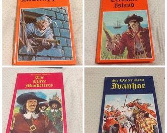 4 Legendary Classics hardback books 1982