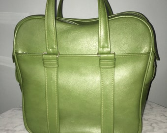 Vintage Samsonite Silhouette Overnight Bag, Diaper Bag, Travel Case