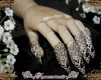 Silver Claw Set