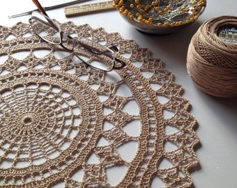 Doily Centerpiece Table Linen Placemat Home Decoration Crochet Wedding Decor