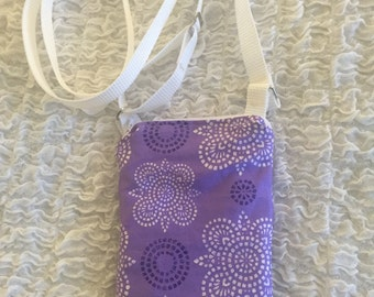 Cell Phone, iPhone, Droid, Small Crossbody Bag, Shoulder Bag, Cross Body Purse, fits many models