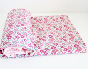 Duvet Cover Liberty Blue and Pink Clarisse - ON ORDER