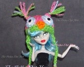 Owl Hat for Monster Doll High Clothes Accessories Beanie