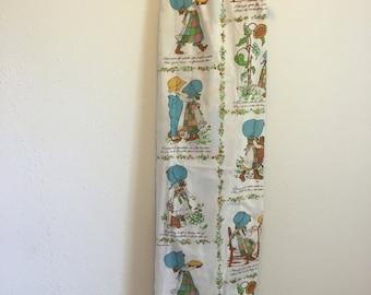 Vintage Bed Sheet, Hollie Hobbie Bed Sheet, Holly Hobbie
