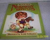 Best Loved Nursery Rhymes, Vintage Children's Book Illustrated by Teddy Williams 1979