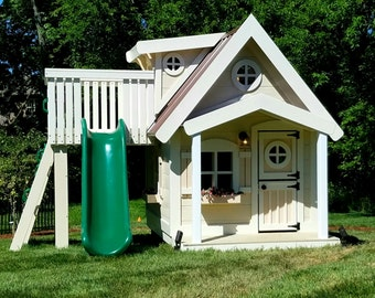 The Big Residence Playhouse by Imagine That Playhouses!