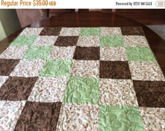 Sale Funky Hand Made Quilt