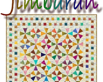 NEW - JIMBARAN - Quilt-Addicts Patchwork Quilt Pattern