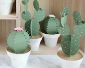 1 3D Paper Cactus Pot