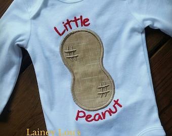 Little Peanut Embroidered Onesie Bodysuit