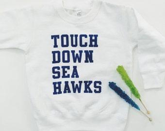 Touchdown Toddler Crew Neck Sweatshirt