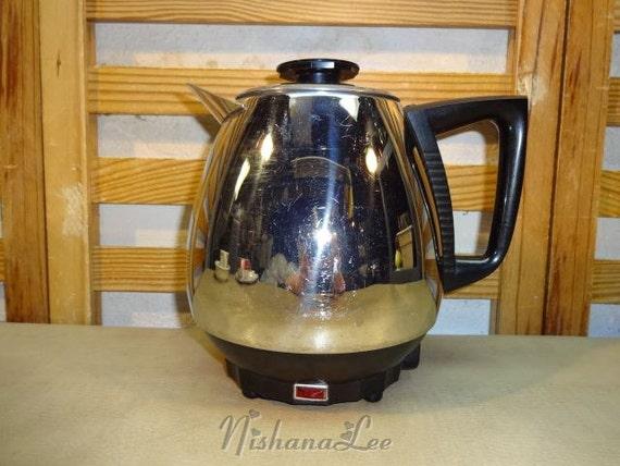 Vintage Electric Coffee Maker : Vintage Jet-O-Matic Electric Coffee Maker Model 10