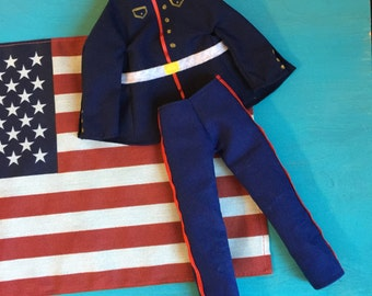 Marine Dress Blues Outfit Only