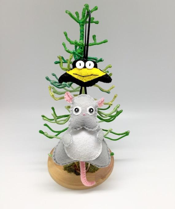 Spirited away, Boh and Yu, christmas ornament,