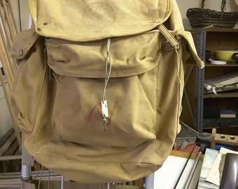 Vintage Boy Scouts of America Large 1307D Cruiser Backpack with Aluminum Frame.