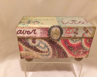 Paisley Decorative Box