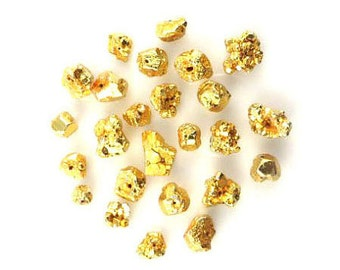 Set Of 25/Gold Pyrite Nuggets