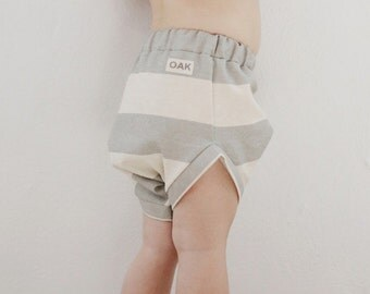 Unisex  Booty Short | Charlie Stripe Toddler Short