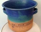Large Michael Cohen 1976 Bicentennial Art Pottery Pot Amherst, Massachusetts HOPE