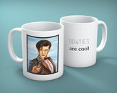 Mug of The Eleventh Doctor from Doctor Who