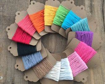 10 yards Divine Twine Baker's Twine, Choose Your Color