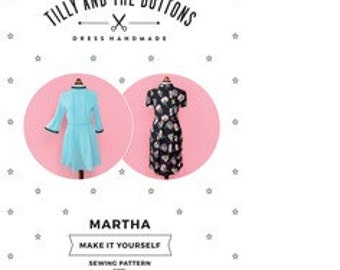 Tilly and the Buttons Martha Sewing Pattern size