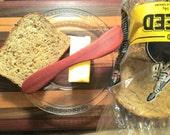 Bloodwood Norwegian Butter Spreader/Gourmet Cheese Knife