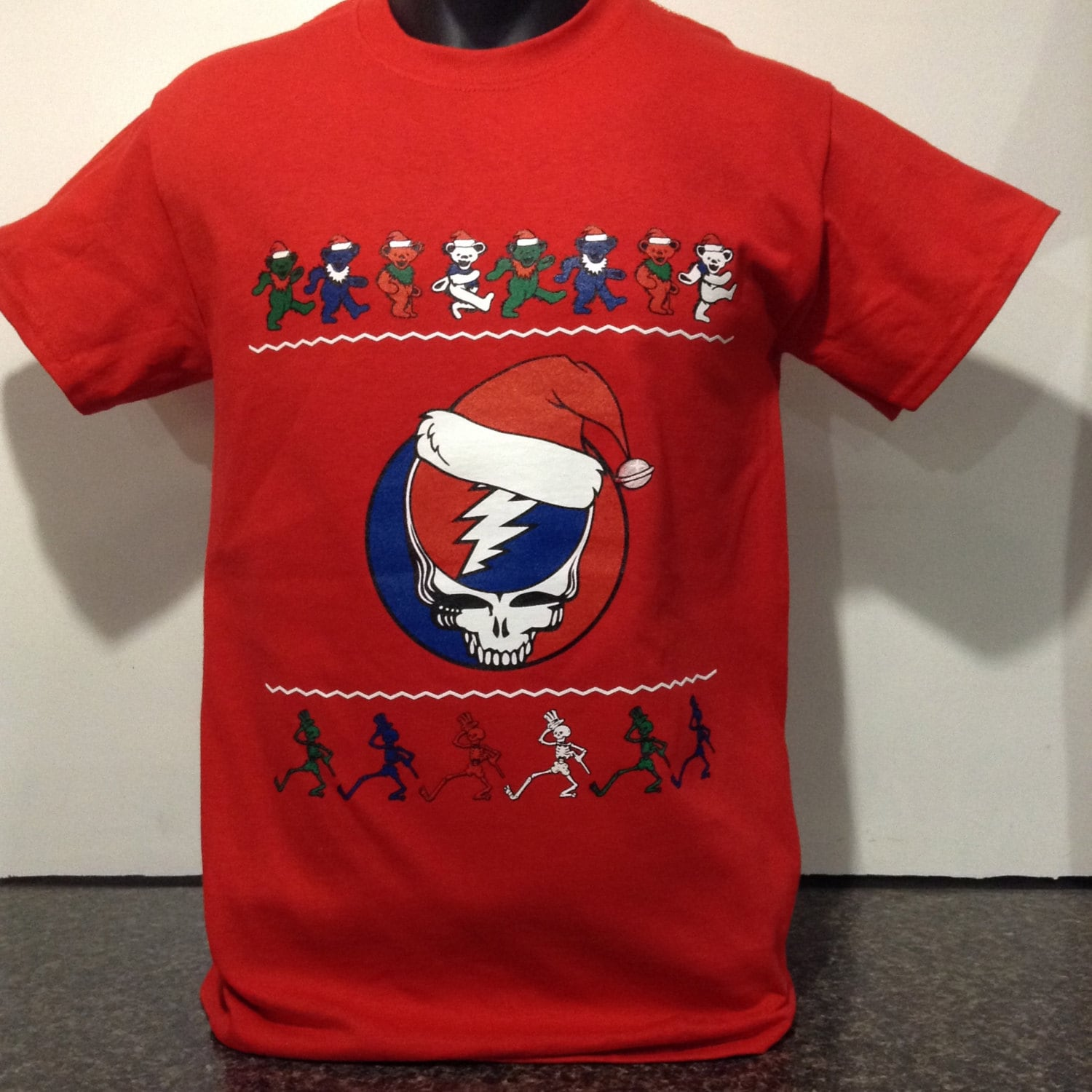 Grateful Dead Christmas T-shirt new