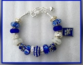 University of Kentucky Wildcat Charm Bracelet