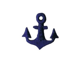 Anchor iron on patch etsy for Anchor decoration runescape