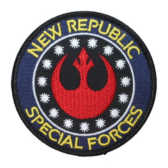 Star wars new republic special forces rebel by yourpatchstore