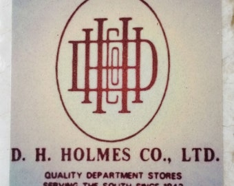 D H Holmes New Orleans Coaster