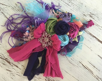 Persnickety Headband- Baby Headband- Flower Girl Headband, DollCake Headband, TUTU Du Monde-  Lace Headband, Boho Headband