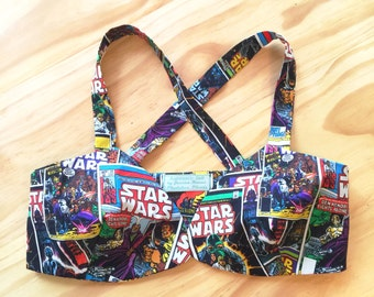 The Z O R A Crop Top in Star Wars Theme