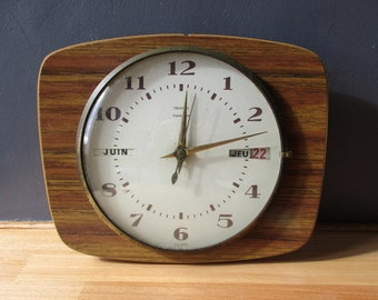 Pendule retro etsy - Pendule decorative murale ...