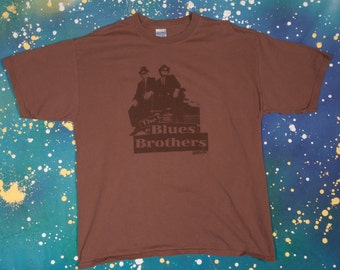 Blues Brothers Belushi SNL Aykroyd T-Shirt Size XL