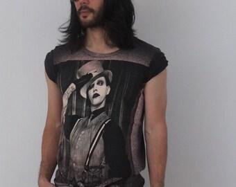 Metal Goth Punk Rock T-Shirt M