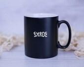 6x Custom Black Mugs