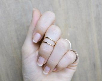The Cora Ring >> 14K Gold-Filled Ring, Gold Criss Cross Ring, Eternity Ring, Infinity Ring, X Ring, Wrap Ring, Wrapped Ring, Gold X