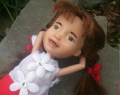 The Possibilities Doll, Drollerie Doll, makeunder repaint rescue ooak doll