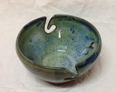Stoneware Yarn Bowl- Stone Penguin Pottery