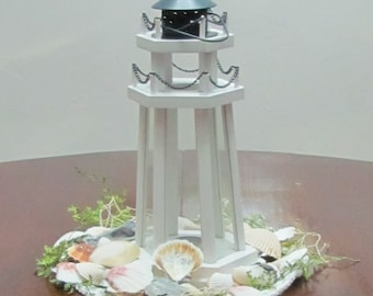 Lighthouse Centerpieces Wedding Event Decor Lighthouse Lantern Centerpiece for Reception Tables and Nautical Home Decor