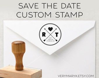 SAVE THE DATE classic wooden return address stamp! wedding seal custom stamp, personalized stamp, rubber stamp, wood stamp!