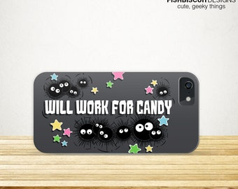 Spirited Soot Phone Case | iPhone 6 | iPhone 6 Plus | Samsung Galaxy S4 S5 | Soot Sprite Anime Case