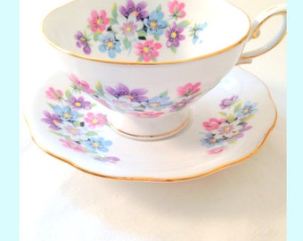 English Royal Standard Fine Bone China Tea Cup and Saucer Tea Party Inspiration
