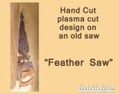 Metal Art Feather | Hand ...