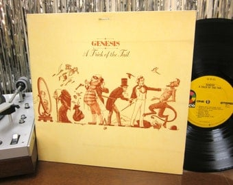 Genesis - A Trick Of The Tail - Progressive Rock - Gatefold w/ Printed Inner Sleeve - Phil Collins - 1976