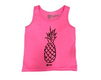 Youth Pineapple Tank - Fused Hawaii Design